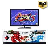 Wisamic Pandora Box 5 960 Arcade Spiele Game Joystick Spielkonsole Home Arcade Konsole, 1280x720 Full HD, Unterstützt PS3 (6 Knöpfe)