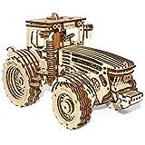 Holz Trick 3D Mechanische Modell Traktor Holz Puzzle, Montage Rennwagen, Brain Teaser, Best DIY Spielzeug, IQ Spiel für Jugendliche und Erwachsene