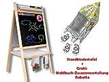 Standkindertafel Papierrolle Standtafel Kindertafel Magnettafel Schultafel Tafel Abakus Kreidetafel +Gratis: Mahlbuch-Zusammenstellung:Rakette