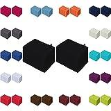 Waschlappen 20er Pack Sparpreis in vielen Farben 15x21 cm 100% Baumwolle Schwarz