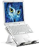 General Office Laptop Ständer: Notebook-Ständer aus Aluminium, mit Drehteller (Notebook Halter)