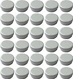 30 Salbendöschen, Creme-döschen, Salbenkruke flach, 25ml Inhalt - MADE IN GERMANY