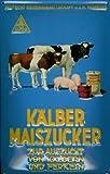 Blechschild Nostalgieschild Kälber Maiszucker Tiefutter Kuh Schwein Kalb Schweinefutter Schild retro Werbeschild