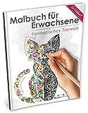 Malbuch für Erwachsene: Fantastisches Tierreich (Kleestern, A4 Format, 40+ Motive) (A4 Malbuch für Erwachsene)
