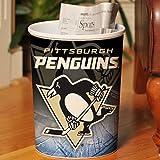 Memory Company nhl-ppe-325Offizielles NHL Pittsburgh Penguins Abfallkorb, Unisex, NHL-PPE-325, Mehrfarbig, Einheitsgröße