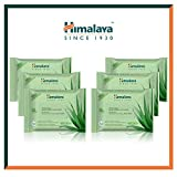 Himalaya Hydrating and Soothing Daily Facial Cleansing Cloths – Oil-Alcohol and Paraben Free, 25 Wipes Per Package, 6 Count (Moisturizing Aloe Vera Facial Wipes)
