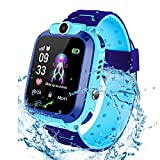 Bhdlovely Kinder SmartWatch Digital Camera Watch with Games, SOS and 1.44 inch Touch LCD for Boys Girls Birthday (Blau) (S12BIUE)