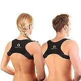 VITALFABRIK Rückenstütze Geradehalter Schultergurt Haltungskorrektur Rückenstabilisator Rückenschmerzen Haltungskorrektur Rücken Damen Haltungskorrektur Rücken Männer Rücken Geradehalter Herren