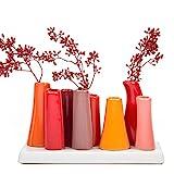 Chive–Pooley 2, Keramik Blume Vase, Gartenlampe Form, Kürbis Sortiment