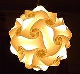 IQ Puzzle Lampe Grösse L Lampada Romantica Set 30 Puzzleteile ca. 35cm im Durchmesser