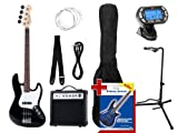 Rocktile Groovers Pack JB E-Bass Set III Black