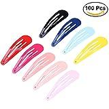 Frcolor Haarspangen Mädchen 100 Stk 13 inchLang Haarclips Mit glatte Oberfläche Kinder Haarklammern aus Metall