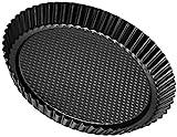 Zenker 6522 Obsttortenform Ø 30 cm, black metallic