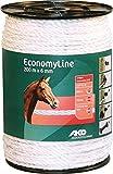 Economy Line Weidezaunseil weiß 200m