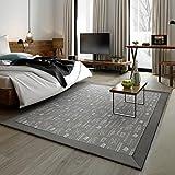 #Wohnzimmer Teppich Rechteckiger Teppich, Wohnzimmer Couchtisch Decke Decke Bett kann in der Maschine gewaschen werden Matten ( Farbe : C , größe : 200*240cm )