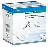 Höga Med-Soft elastischer Wundverband - 5 m x 8 cm – Wund-Pflaster, hypoallergen, atmungsaktiv, nicht wundhaftend, stark absorbierend.