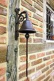Antikas   Glocke   Schöne Gartenglocke   Toller Klang   Türglocke in Antik Optik