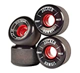 JUCKER HAWAII Longboard Rollen / Wheels STREETBALLS - MINI BALLS Black