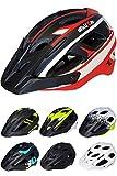 Skullcap Fahrradhelm  MTB Helm  Mountainbike Helm  Herren & Damen  Schwarz/Neon-Grün matt  Visier/Helmschild (red-Black-Gray, L)