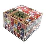 Origami-Papier 75 x 75 mm (3 x 3 Zoll) 360 Stück/Packung, verschiedene Farben