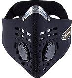 Respro Schutzmaske Techno schwarz schwarz L
