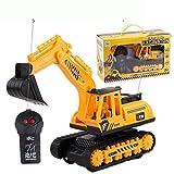 Kuerli Auto Bagger Kinder Spielzeug Crawler Digger elektrische 2-Kanal-Fernbedienung BAU- & Konstruktionsspielzeug