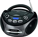 AEG SR 4366 Stereo-Kassetten-Radio mit CD/MP3/USB/AUX-IN, Toploading CD-Player