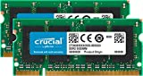 Crucial CT2KIT25664AC800 4 GB (2 GB x 2) Speicher Kit (DDR2, 800MHz, PC2-6400, SODIMM, 200-Pin)
