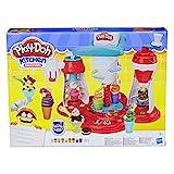 Hasbro Play-Doh E1935EU4 - Super Eiscreme Maschine Knete, für fantasievolles und kreatives Spielen