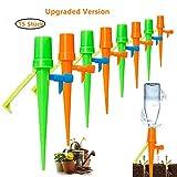 JuguHoovi Bewässerung Für Topfpflanzen, 15 Stück Bewässerungssystem Topfpflanzen Blumen Automatisch Bewässerung Set Bewässerung Für Zimmerpflanzen, Ideal Wasserversorgung Während Ihrem Urlaub