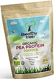Bio-Erbsen-Proteinpulver - reich an Aminosäuren und BCAAs - 80% + reines veganes Proteinpulver - von TheHealthyTree Company