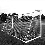 Aoneky Fußballnetz für Kinder und Erwachsen, Fußballtor-Netz & Hochleistungs-Fußballnetz &Trainingen, 2.4 x 1.8m, Durchmesser 2mm