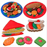 Unbekannt Play Dough Mold Set Healthy Sandwich Mode Soft Clay Plasticine Toys COD