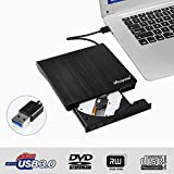 Externes DVD Laufwerk Externe CD Brenner USB 3.0, Mbuynow Externes CD/DVD Brenner kompatibel mit Laptop/PC Desktop Apple MacBook Pro Air Windows XP/7/8/8.1/Vista/Linux/XP/Win 10
