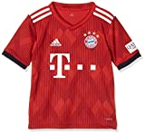 adidas Kinder 18/19 FC Bayern Home Trikot, FCB True Strong red/White, 128