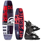 Hyperlite Motive 134 Package Wakeboard mit Frequency Wakeboardbindung