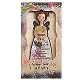 "Kelly Rae Roberts Sammelkarte ""Follow Your Heart"", Plastik, Mehrfarbig, 1 x 11 x 20.5 cm"