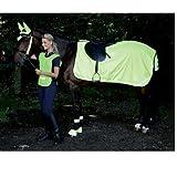 Waldhausen Reflex Nierendecke, neon gelb, Pony, neon gelb, Pony