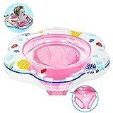 Baby Schwimmring mit Schwimmsitz, aufblasbare Baby Schwimmring mit Hautpflege PVC für Kleinkind Schwimmhilfe Spielzeug, Baby Pool Schwimmen Float Anzüge für Kleinkinder von 6 Monaten bis 3 Jahren und ideal für Kinder Planschbecken