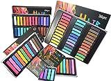 Haarkreide temporäre Haarfarbe für Fasching, Partys, Festivals Halloween Weihnachts Kinder Geschenk Set ungiftige waschbare:24 Farben