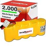 Kraftmax Akku für Bosch SOMFY K8/K10/K12 (6V, 2000mAh, NiMH)
