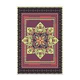 Zmymzm Bedruckter Teppich,vorzüglicher und weicher Teppich, für Wohnzimmer und Schlafzimmer,A,160 * 230cm