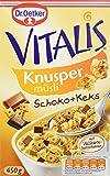 Dr. Oetker Vitalis Knusper Schoko mit Keks, 4er Pack (4 x 450 g)