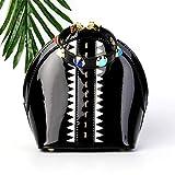 Circlefly Hochwertige Lederhandtasche Koreanische Version der Akkordeon-Tasche Wild Messenger-Ketten-Tasche