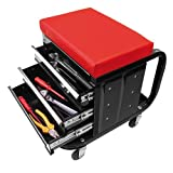 CG Car Professional 580526 Werkstattstuhl mit Schubfächern -fahrbar
