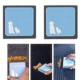 Hair Cleaning Tool,(2 Stücke) Haustier Fell Fussel Bürste Fusselbürste, Pet Hair Cleaning für Kissen Sofas Kleidung Autositzen, benutzt auf Möbeln, Teppichen, Pferdewolldecken u.