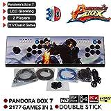 Pandora Box Key 7 Arcade Spiele Game Joystick Spielkonsole Home Arcade Konsole, 1920 1080P Full HD Perfektes Weihnachtsgeschenk