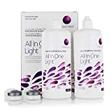 All In One Light – Kontaktlinsen-Pflegemittel – Kombilösung für das Reinigen der Kontaktlinse (2x360ml)