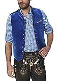 Stockerpoint Herren Trachtenweste Weste Ricardo, Blau (Royale), Medium (Herstellergröße: 50)