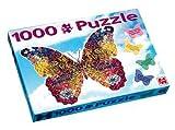 01480 - Jumbo Spiele - 1000 Teile Großes Schmetterling Puzzle, 1000 Teile